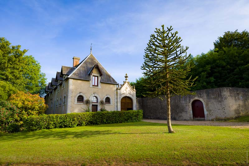 La manège du domaine de Montigny-le-Gannelon