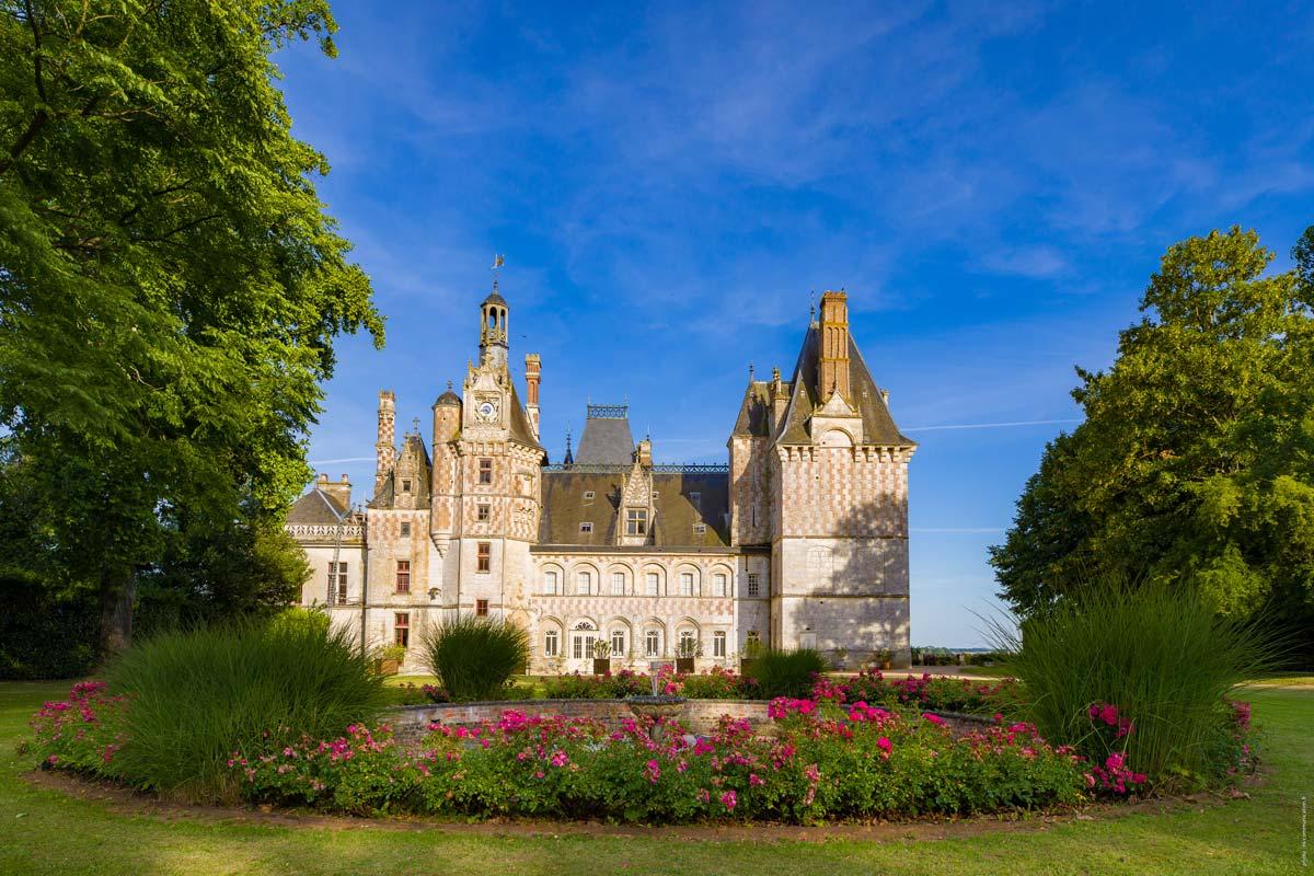 Château de la Loire à Cloyes sur le Loir