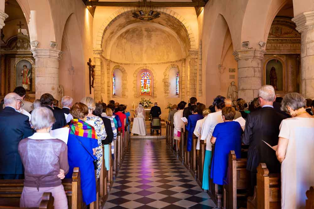 prêtre mariage chateau