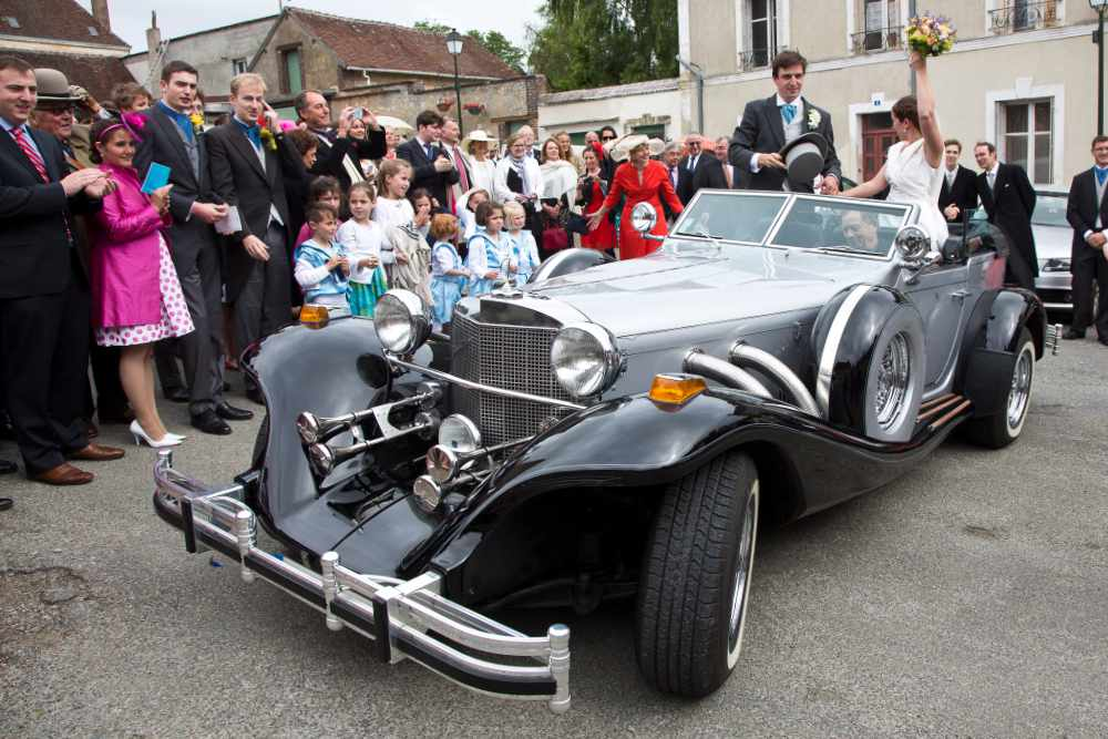location voiture type excalibur réception et mariage