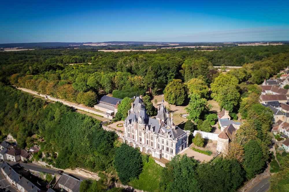 Visite guidé Château de Montigny le Gannelon