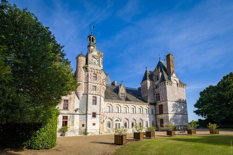 Visite Château de la Loire à Montigny le Gannelon