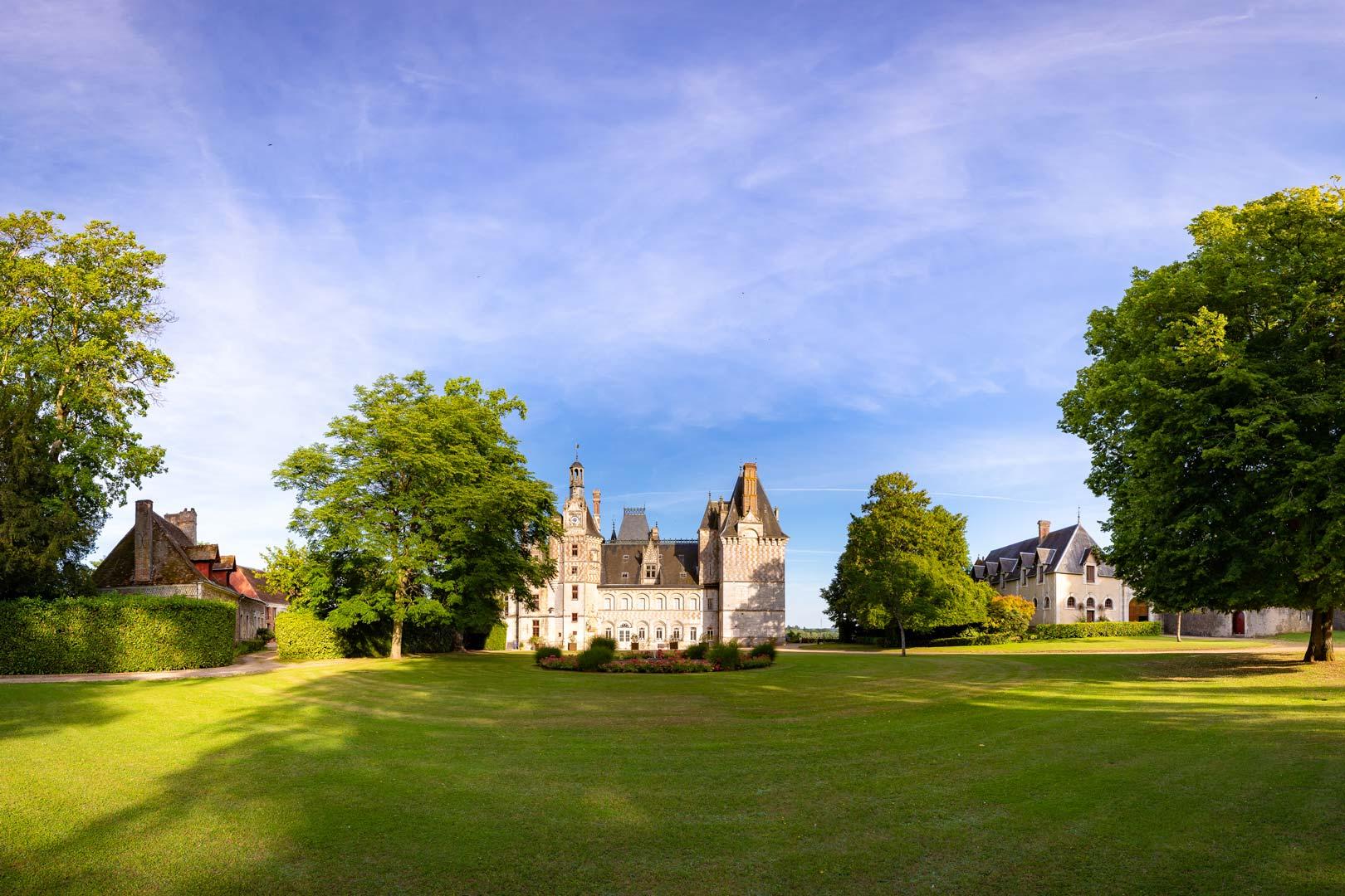 Parc du domaine de Montigny le Gannelon