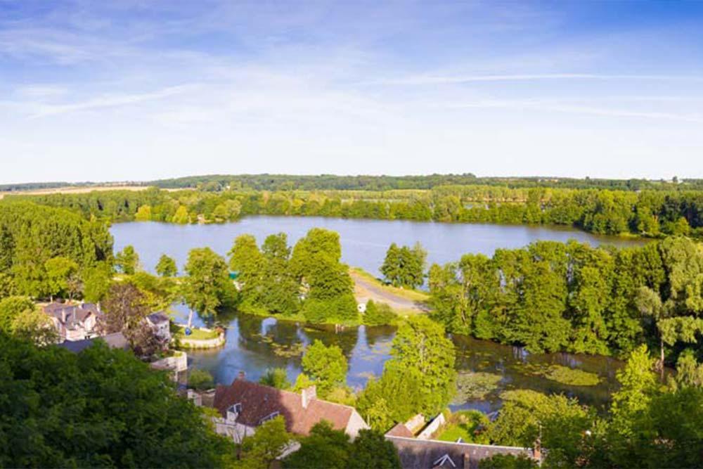 paysage château de la Loire