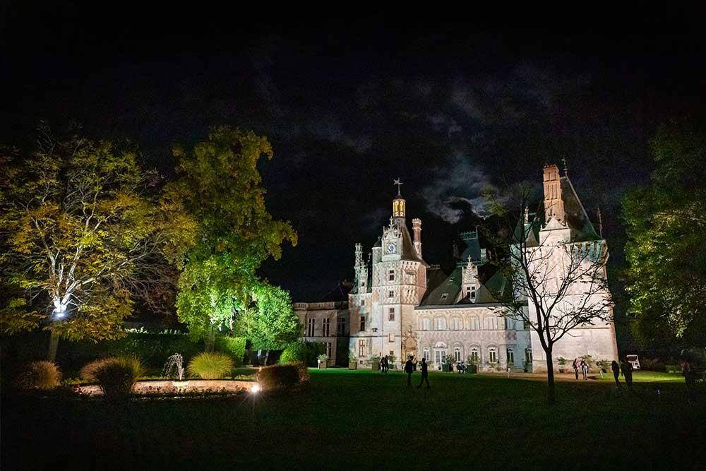 Nuit Château de la Loire