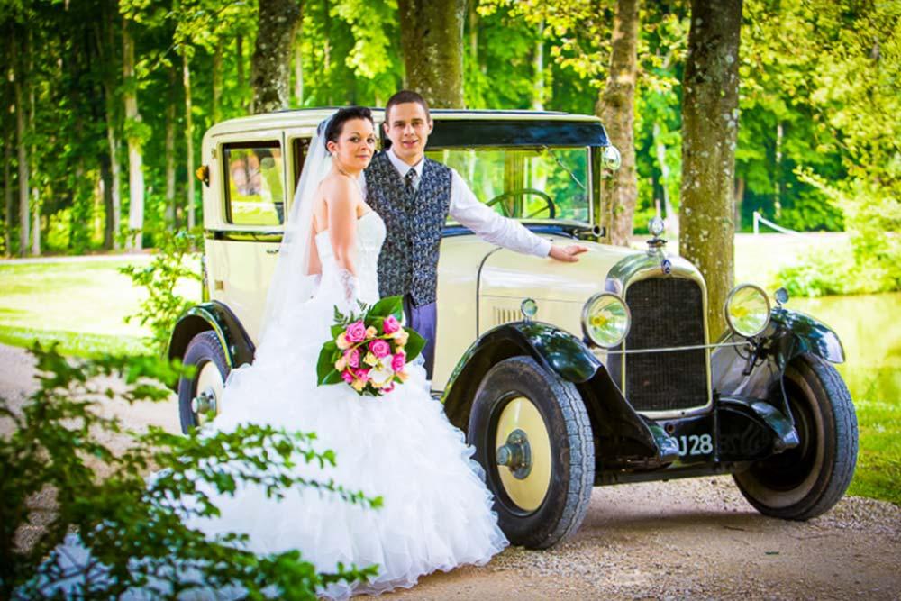 location voiture mariage cloyes Prestataires réception et mariage